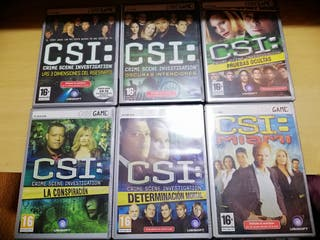 Videojuegos de CSI