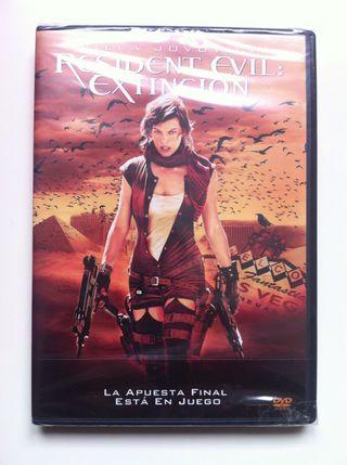 Precintado Resident Evil Extinción DVD