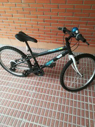 """bicicleta chico 24"""", regalo casco"""