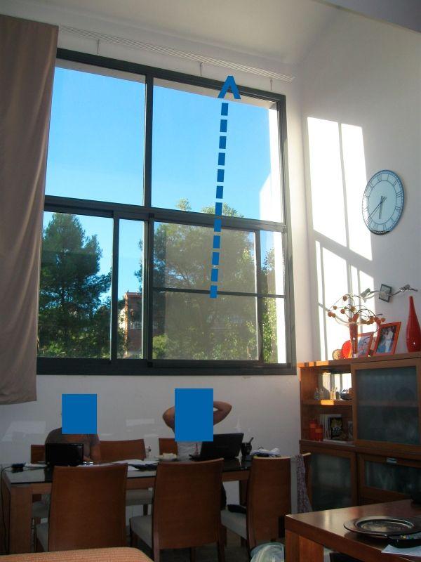 Panel japonés 3.40 ventana gigante