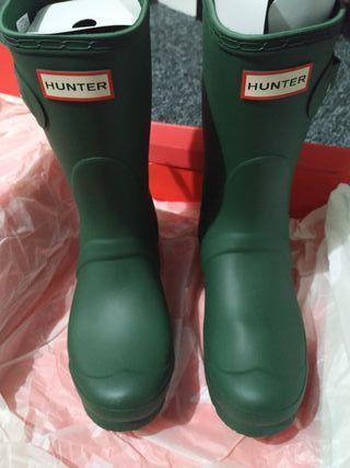 New Brand Original Hunter Wellington Mid Calf