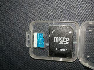 Tarjeta memoria SD-64gb-clase10