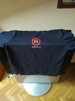 Camiseta Banieca azul Bandera de España