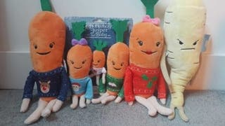 Complete Kevin the Carrot set.