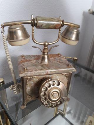 teléfono italiano mármol vintage