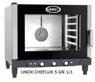 Horno Cheflux unox 5 GN 1/1 eléctrico envios
