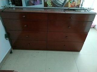 mueble 4 cajones dobles