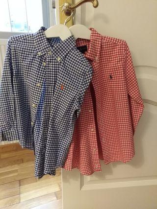 Camisas chico Polo Ralph Lauren