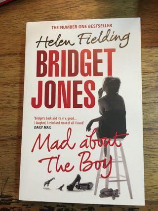 Libro de Bridget Jones en ingles