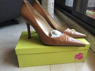 Zapatos de tacón piel de serpiente - 39