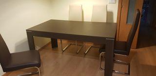 Mesa salón + 4 sillas