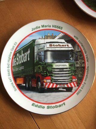Eddie Stobart collectable plates