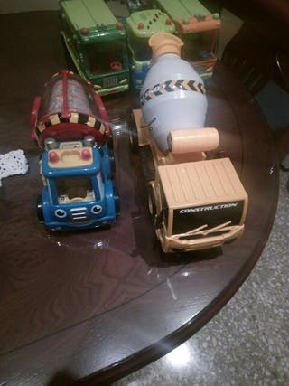 camiones hormigoneras
