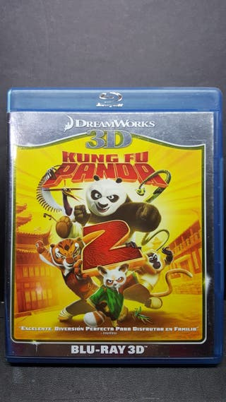 Kung Fu Panda 2 blu ray 3D