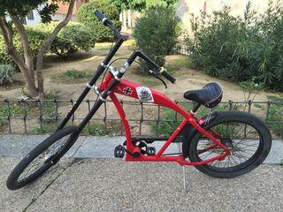 Bicicleta Chopper Felt Red Baron