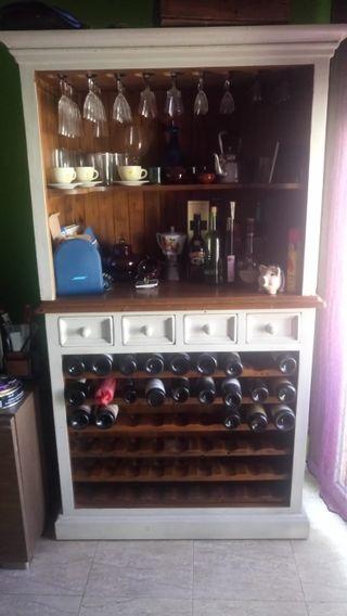 Botellero para bar de segunda mano en wallapop - Botelleros para bares ...