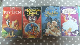 VHS peliculas Disney