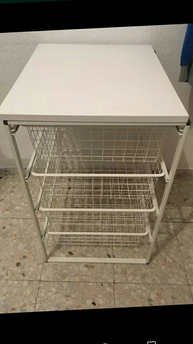 Mueble auxiliar verdulero cocina Ikea de segunda mano por 35 ...