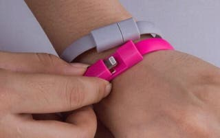 Bracelet chargeur telephone