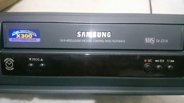 video cassete Samsung