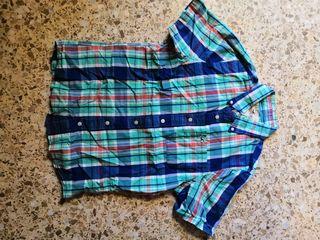 camisa manga corta Hollister