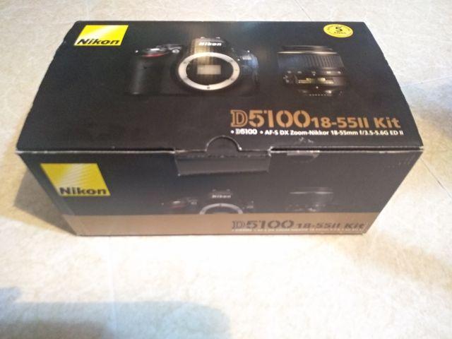 Camara Nikon D5100 + objetivo