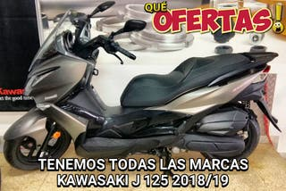 2018/19 NUEVAS KAWASAKI J125 MOTOS OFICIALES OÑ