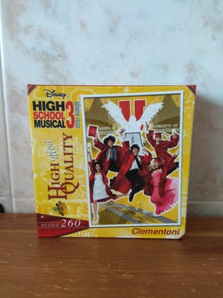 PUZZLE HIGH SCHOOL MUSICAL 260 PIEZAS