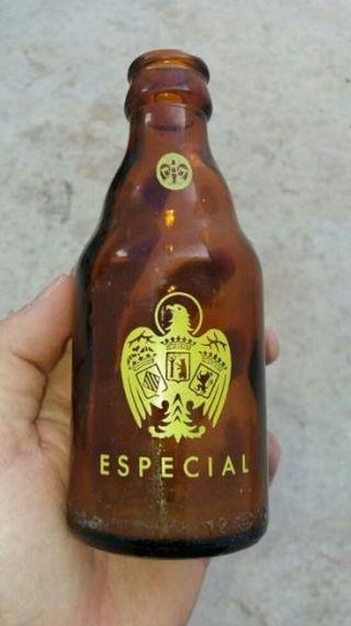 Botella cerveza EL AGUILA ESPECIAL