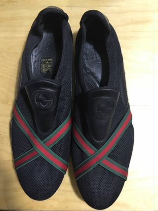 Gucci zapatos mujer negros T 41.