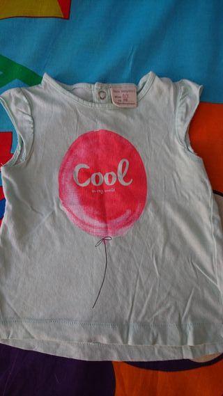 Camiseta niña de Zara