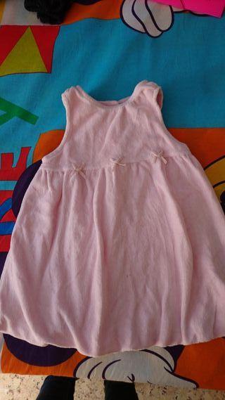 Vestido CyA rosa gordito