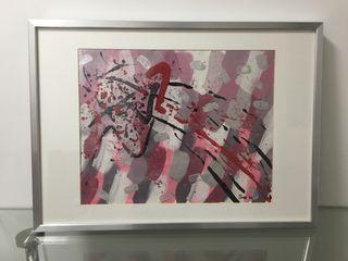 Cuadro pintura abstracta moderna