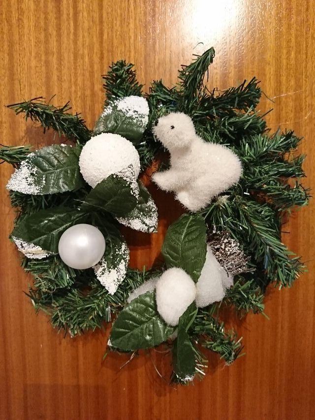 corona de Navidad, decoración