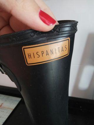 Botas de agua num 39. Hispanitas
