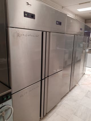 cámara frigorífica puertas acero