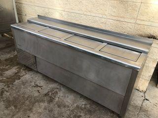 Botellero refrigerador 2 metros industrial acero