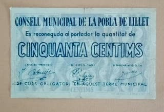 Billete local