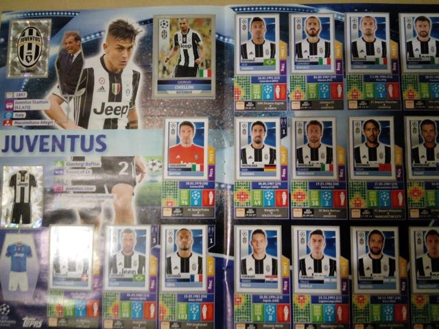 Album cromos Champions league 2016/2017