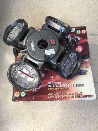 Calefactor eléctrico exterior Heatmaster 4 focos