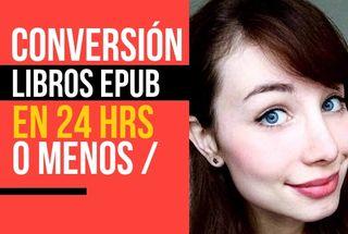 Conversión a EPUB (libro electrónico)