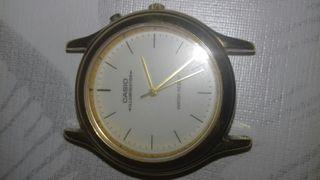 reloj casio chapado en oro