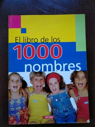 libro 1000 nombres