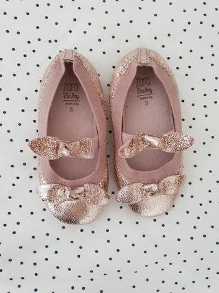 zapatos niña zara. N 20