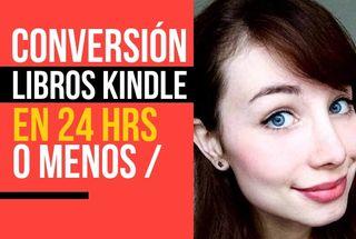 Conversión de Libros Kindle