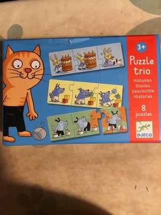 Puzzles 3 años nuevos