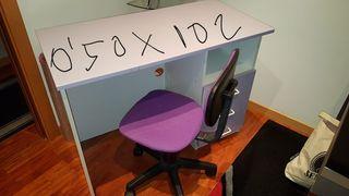escritorio regalo silla