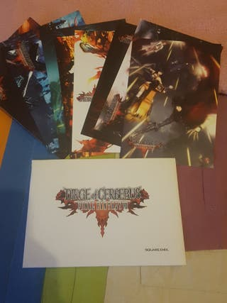 8 postales oficiales d1e Dirge of Cerberus