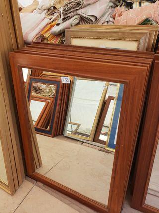 espejos de madera maciza