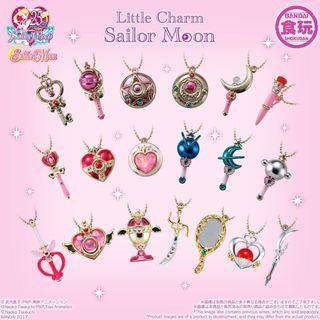 Sailor Moon Little Charm Set Vol. 1 2 & 3 Bandai